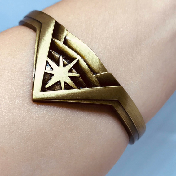Pulseira Bracelete Mulher Maravilha Tiara Diana