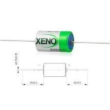 Bateria 1/2aa 3,6v Xeno Com Terminalaxial Lithium 200