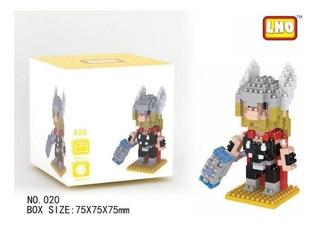 Mini Brick Lego Thor Marvel Avengers