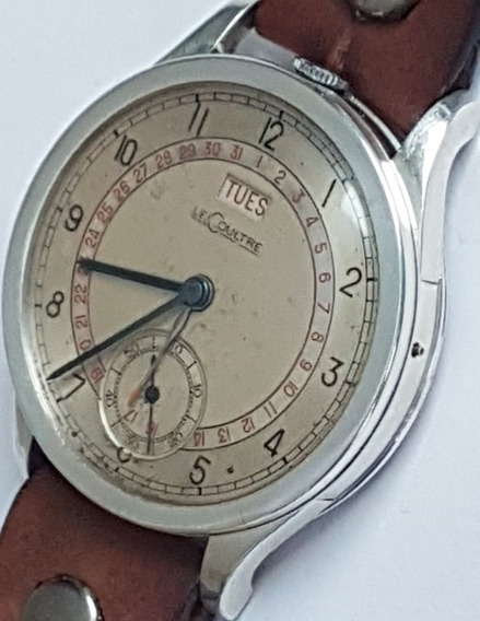 Relógio Le Coultre Vintage Daydate 44 Mm