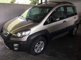 Fiat Idea 1.8 16v Adventure Flex Dualogic 5p 2013 Prata Top