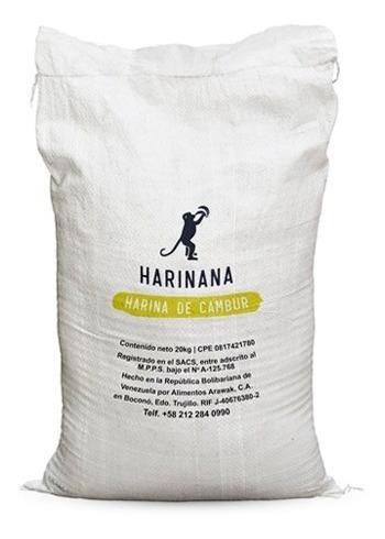 Harina De Cambur Verde Sin Gluten Harinana 20 Kg