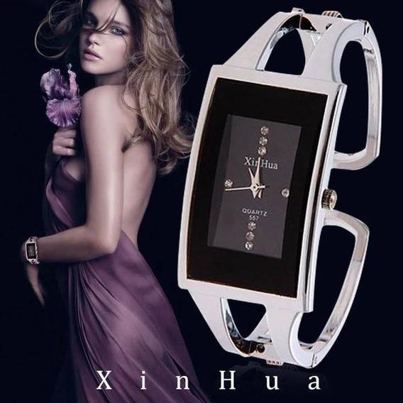 Relógio De Pulso Feminino Bracelete Com Caixinha Barato