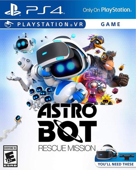 Astro Bot Rescue Mission - Ps4 Vr - Português - Mídia Física