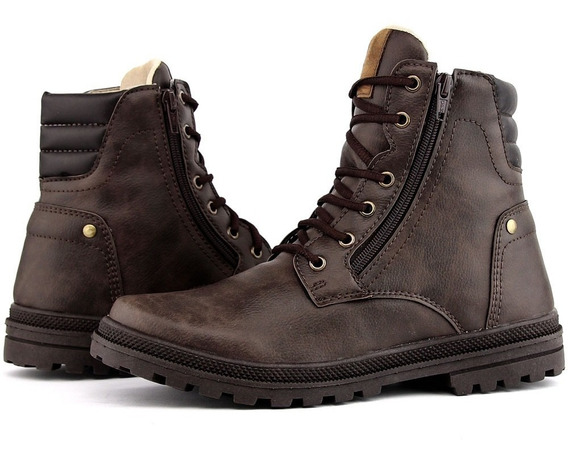 Bota Masculina Super Comfortavel,mais Brata Do Brasil