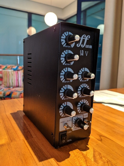 Amplificador Setorizador Para Som Ambiente Ff Fortíssimo