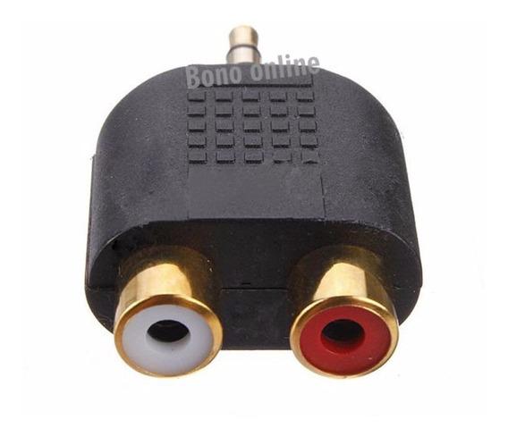 Plug Adaptador Rca Para P2 Stereo High Quality