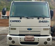Ford Cargo 2422e - 2009 - 3 Eixos 2p Único Dono