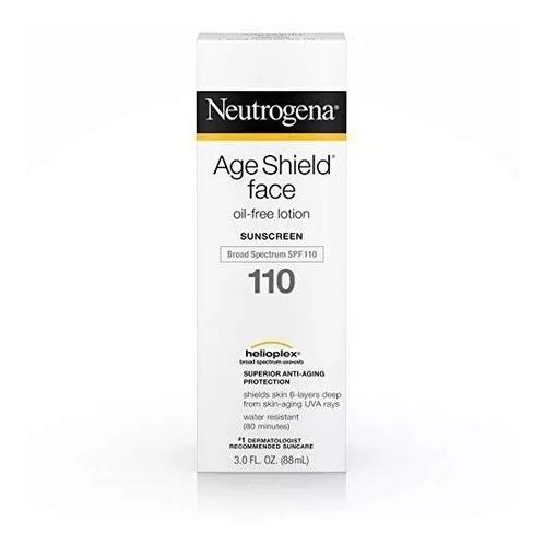 Neutrogena Age Shield Face Protetor Solar Anti Idade Fps 110