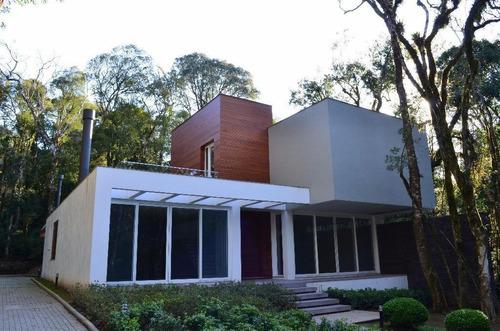 Casa Com 4 Dormitórios À Venda, 402 M² Por R$ 3.690.000,00 - O Bosque - Gramado/rs - Ca0034