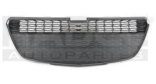 Rejilla Delantera Chevrolet Spark 2013-2014 C/mold Cromada