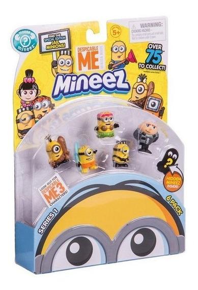 Mineez Pack 6 Unidades