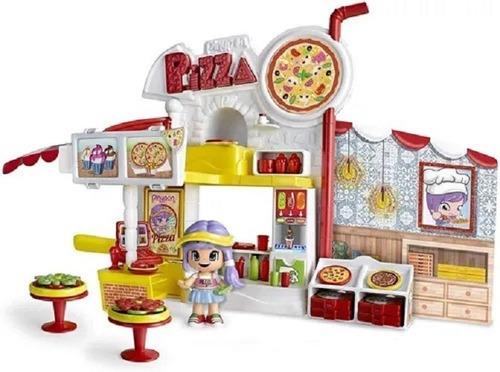 Pinypon - Playset De Pizzera Fig + Accs (art14755)