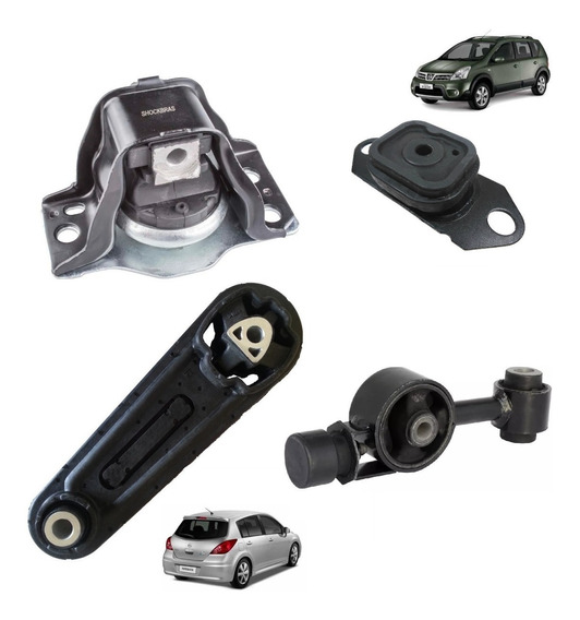 Coxim Calço Motor + Câmbio Nissan Livina Tiida 1.6 1.8 -novo