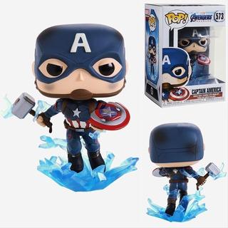 Funko Pop #573 Avengers Endgame Capitan America - Original!