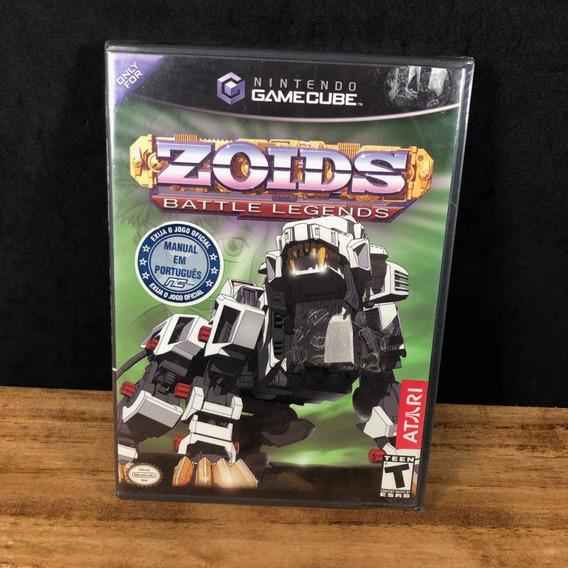 Zoids Battle Legends 100% Original Lacrado P/ Gamecube! Raro