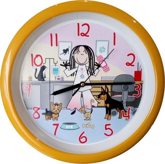 Reloj De Pared Médico Veterinario Doctora