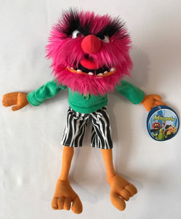 Peluche De Animal De Los Muppets Original Y Nuevo 35 X 15