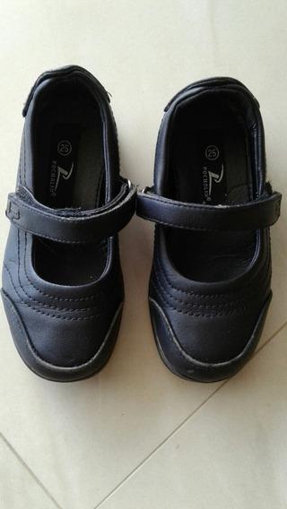 Zapatos Colegial Niña Pocholin Talla 25