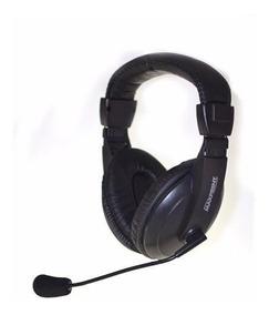 Fone De Ouvido Com Microfone Ajustável Headset Plug2