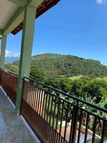 Imagem 1 de 30 de Sobrado Com 4 Dormitórios À Venda, 198 M² Por R$ 585.000 - Zona Rural - Santo Antônio Do Pinhal/sp - So2278