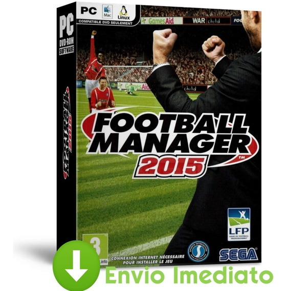 Football Manager 2015 Pc Simulador Português Envio Agora
