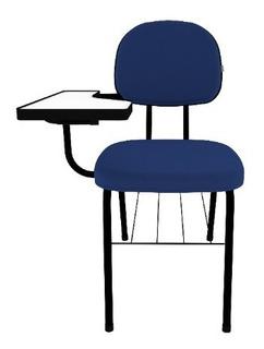 Cadeira Universitária Secretaria Palito C/ Porta Livros