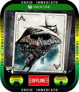 Batman Return To Arkham Solo Modo Local