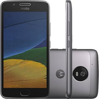 Motorola Moto G5 Xt1672 32/2gb Dual 4g 13mp Cinza Vitrine 3
