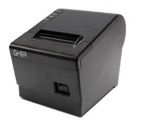 Miniprinter Termica Ghia Negra 58mm Usb / Corte Manual