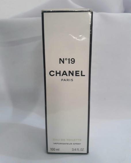 Perfume Cha_nel Nº 19 Edt 100ml Original! Lacrado!
