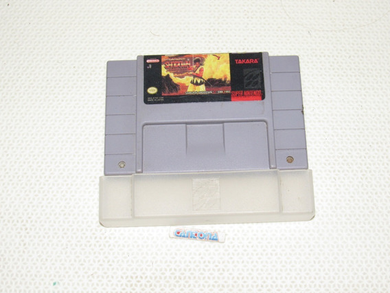 Samurai Shodown Original Com Dust Cover Super Nintendo