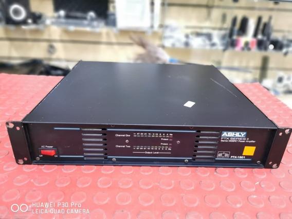 Potência Ashly Ftx- 1501 Made In U.s.a Original Estudio
