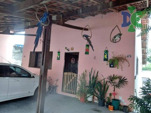 Casa Com 3 Dormitórios À Venda, 250 M² Por R$ 300.000,00 - Jardim Nova Esperança - Jacareí/sp - Ca0678