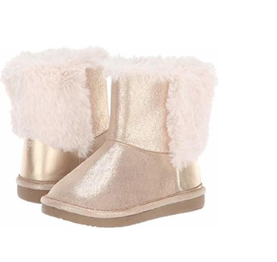Zapatos Pantubota Nenas Corderito Invierno Oshkosh