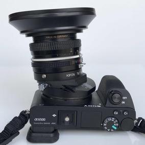 Adaptador Tilt Shift Kipon De Lente Nikon Em Sony E Mount A7