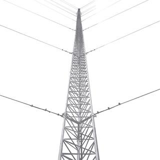 Torre Arriostrada 6 Metros Kit Completo Telecomunicaciones