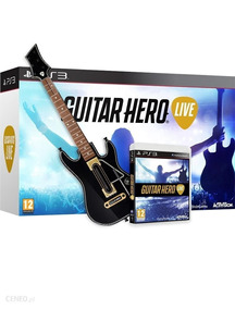 Guitar Hero Live Bundle Guitarra E Jogo Playstation 3 Ps3