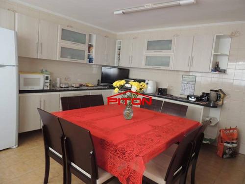 Imagem 1 de 20 de Sobrado Com 4 Dormitórios À Venda, 274 M² Por R$ 580.000,00 - Vila Buenos Aires - São Paulo/sp - So2480