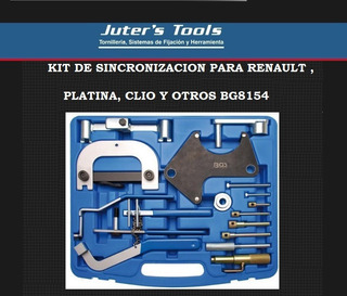 Bg8154) Kit De Sincronizaciànp- Renault