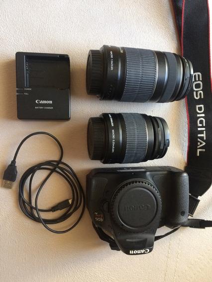 Máquina Fotográfica Canon Eos Kiss X5