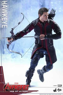 Hot Toys Hawkeye Age Of Ultron Avengers Envío Inmediato Fpx