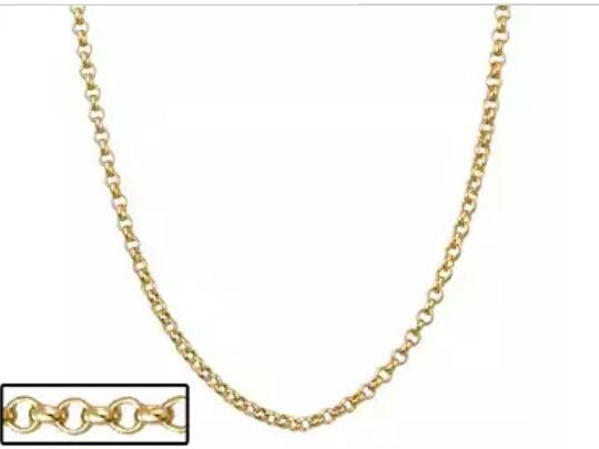 Corrente Rommanel Elo Português 42cm F. Ouro 530677