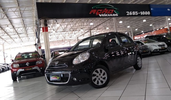 Nissan March 1.0 S 2014 Completo