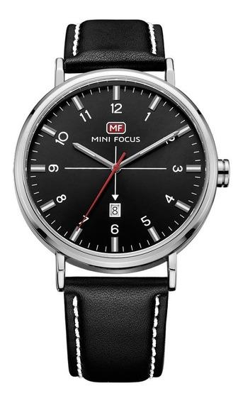 Reloj Hombre Original Minifocus De Lujo Calendario19g