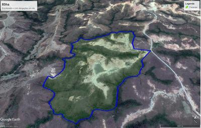 Gleba De Terra De 83ha Em Serra Da Saudade/mg