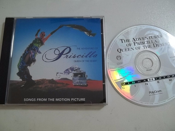 Cd . The Adventures Of Priscilla Queen Desert - Trilha Filme