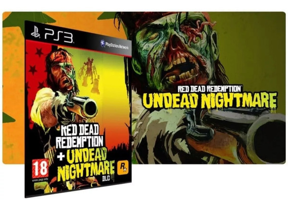 Red Dead Redemption + Undead Nightmare Ps3 Psn Midia Digital