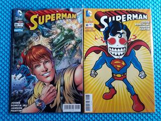 Dc Comics Superman #30 Portadas Variantes Selfie Calaveritas