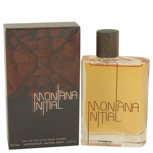 Perfume Montana Initial Pour Homme Masculino 75ml Edt - Novo